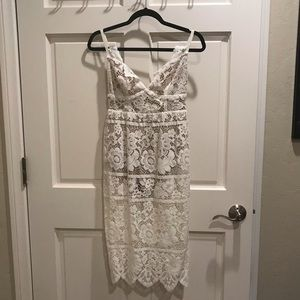 For Love and Lemons 🍋 White Lace Dress